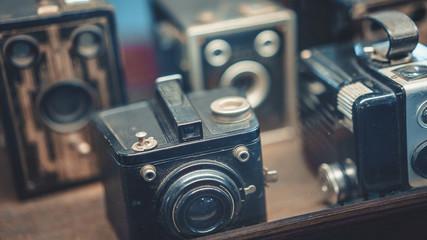 Old Black Manual Film Camera