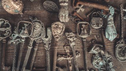 Vintage Engraved Metal