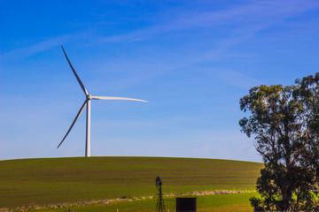 Single Energy Saving Wind Mill