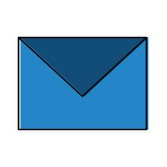 envelope email message communication information vector illustration