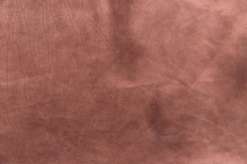 brown Italian calf leather for background use