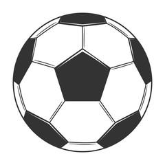 Soccer ball icon. Vintage Soccer ball for design logo, emblem, label. Vector illustration