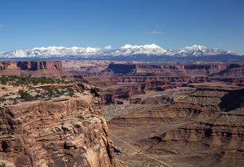 Canyonlands National Park in winter, Utah