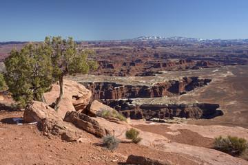 Canyonlands National Park in winter, Utah
