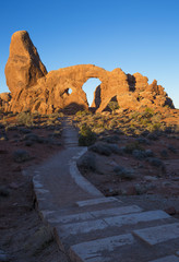 Turret Arch in Arches National Park, Utah