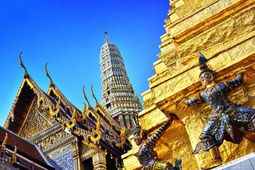 Poster Bangkok Grand Palace in Bangkok,Thailand