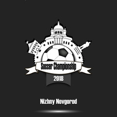 Logo Soccer championship 2018