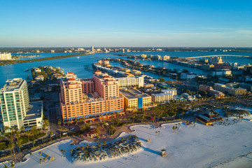 Beach resorts Clearwater Florida USA