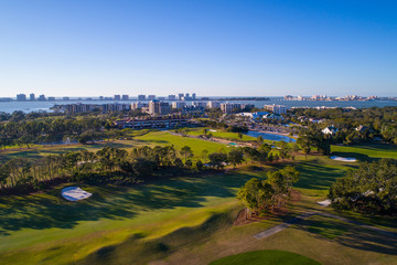 Florida golf landscape Belleview