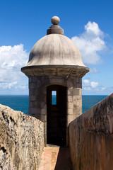 Puerto Rico - El Morro Tower -Old San Juan
