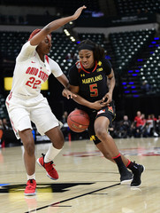 NCAA Womens Basketball: Big Ten Conference Tournament-Ohio State vs Maryland