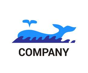whale logo idea