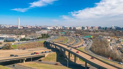 Wall Mural - Washington, D.C. city skyline