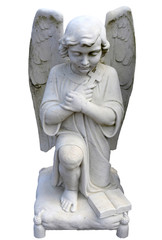Kneeling Angel from the Front View
