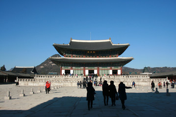 Wall Murals Beijing Gyeongbokgung Palace