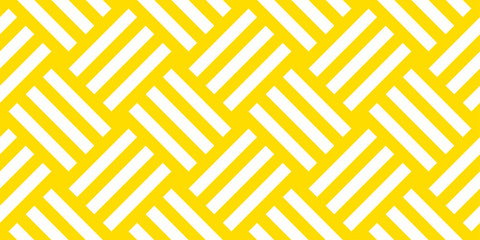 Summer background diagonal stripe pattern seamless yellow and white.
