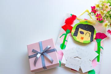 母の日のカワイイ手作りプレゼント