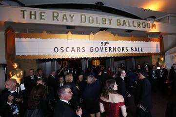90th Academy Awards - Oscars Governors Ball - Hollywood