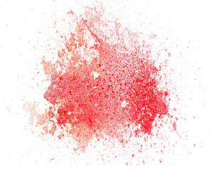 Abstract colorful paint splash brash background