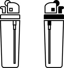 Lighter Icon, Cigarette Lighter