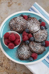 Schokoladen Pancakes