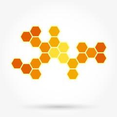 Honeycomb background texture