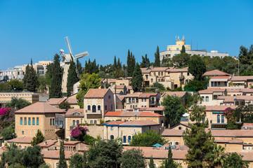 Yemin Moshe neighborhood view.