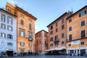 Fotomurales - Piazza della Rotonda. Rome. Italy.