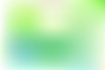 Colorful gradient mesh background in bright colors. Abstract blurred smooth vector illustration