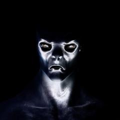 Digital 3D Illustration of a creepy Creature