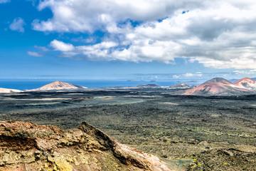 Lanzarote - Lavafelder Tinajo