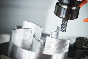 milling CNC machine tool with mill