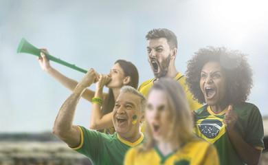 Group of Brazilian fan