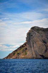 Rock of the Indian Head above the Sea at La Ciotat