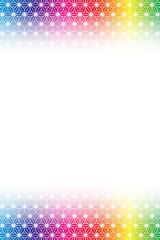 背景素材壁紙,和風イメージ,麻の葉,柄,パターン,日本風,コピースペース,伝統模様,中抜,広告
