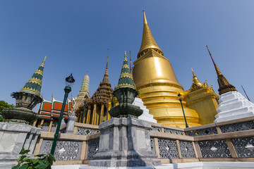 Wat Phra Kaew, Thailand Temple of the Emerald Buddha (officially known as Wat Phra Sri Rattana Satsadaram is regarded as the most important Buddhist temple in Thailand.