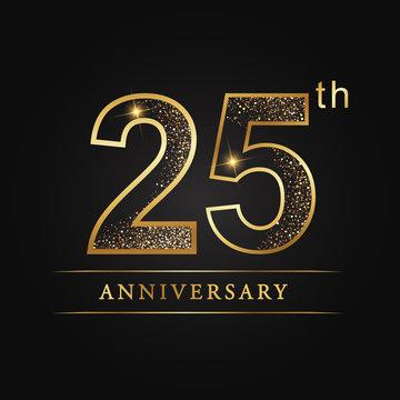 anniversary,aniversary, twenty-five years anniversary celebration logotype. 25th anniversary logo. twenty-five years.