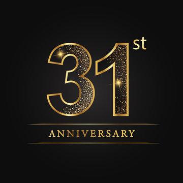 anniversary,aniversary, thirty-one years anniversary celebration logotype. 31st anniversary logo. thirty-one years.
