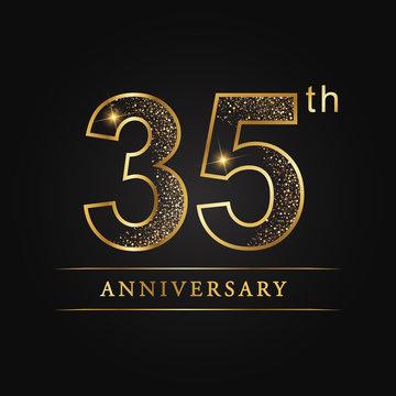 anniversary,aniversary, thirty-five years anniversary celebration logotype. 35th anniversary logo. thirty-five years.