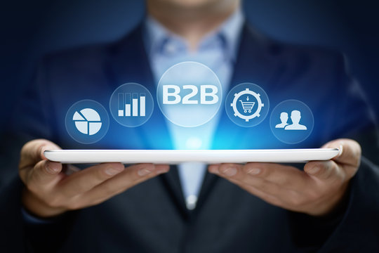B2B Business Company Commerce Technology Marketing concept