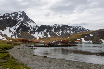 Grytviken - old whaling station on South Georgia