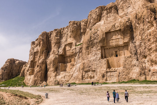Tombs of the Achaemenid Kings in Shiraz, Iran