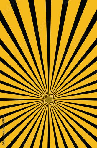 Warning light Yellow stripe long eps