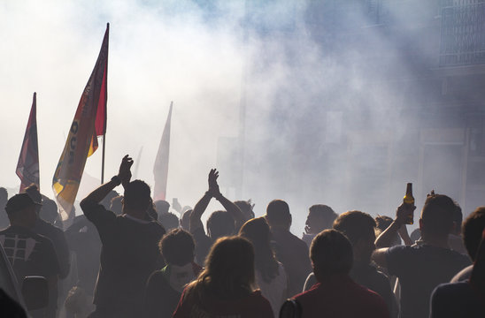Popular anti-racist demonstration
