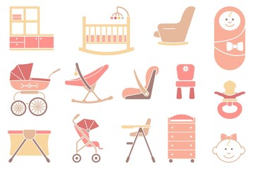Furniture and equipment for girls