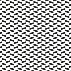 Seamless Vector Pattern. Black and white Background.