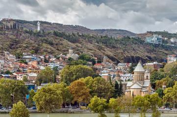 View of Tbilisi old town, Georgia