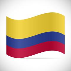 Colombia Flag Illustration
