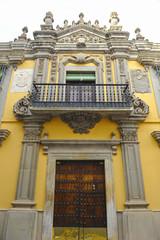Palacio del Marqués de la Encomienda, Almendralejo, provincia de Badajoz, Extremadura, España