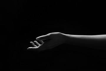black and white hands art photography